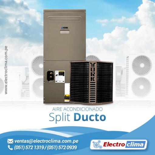 aire acondicionado split ducto