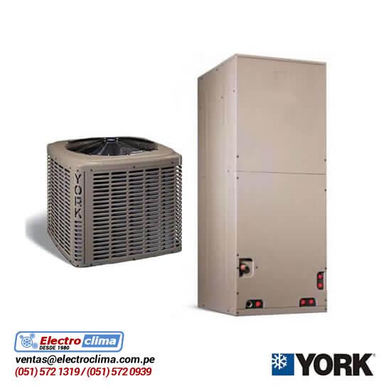 aire acondicionado split ducto york electro clima lima