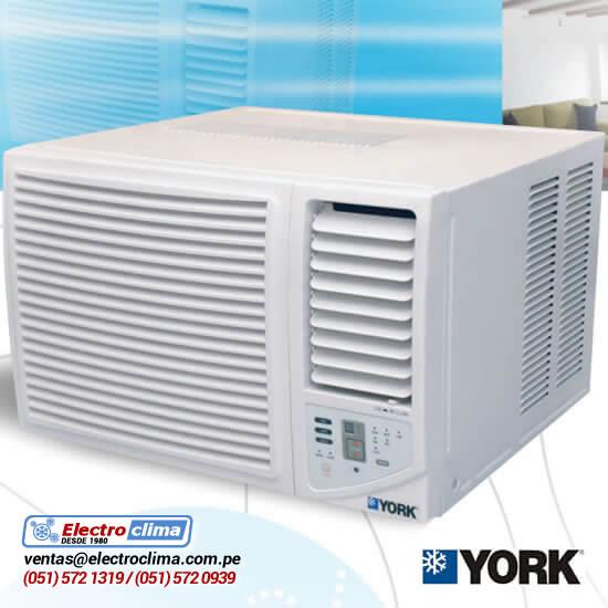 aire acondicionado tipo ventana york
