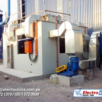 presurizacion de salas electricas electroclima