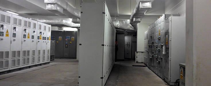 presurizacion y climatizacion de salas electricas