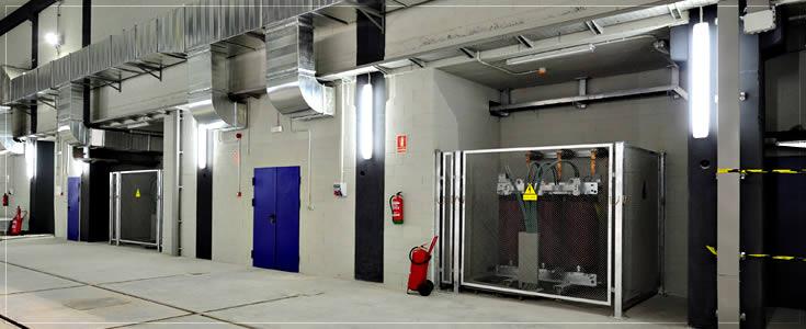 presurizacion y ventilacion de sala de transformadores